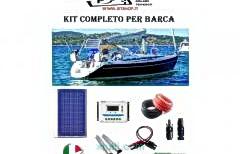 Pannello fotovoltaico ideale per barca kit completo