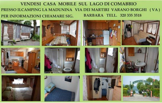 Casa mobile in camping