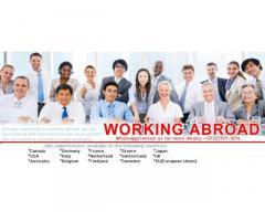 Viaggia e lavora all'estero con buone condizioni di lavoro
