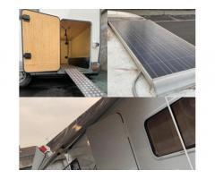 Camper semintegrato pannelli solar accetto permute