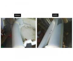 Riparazione Gommoni hypalon neoprene e PVC