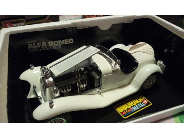 ALFA ROMEO 2300 SPIDER (1932) - Scala 1-18