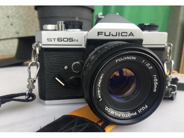Fotocamera fujica st605n anno 1978