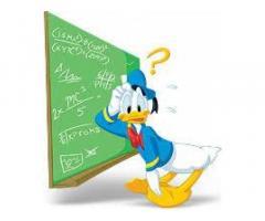 istruzione della matematica e fisica