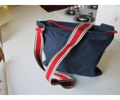 Borsa Prada modello Vintage Luna Rossa tessuto
