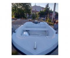 Barca con motore evinrude 9.9 cv