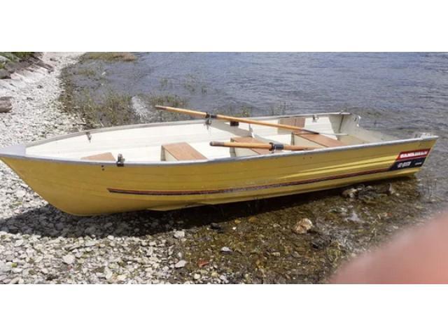 Barca Canadian in alluminio mt. 4,40