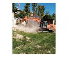 Escavatore 230ql Fiat kobelco E 215 con Cesoia