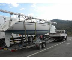 trasporto e rimessaggio barche gommoni