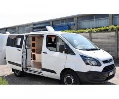 Ford transit custom camperizzato