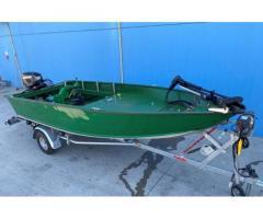 Barca alluminio Canadian 440