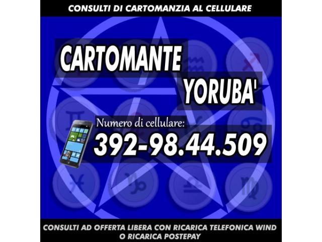 ¸.•*´¨`*•.¸Studio di Cartomanzia Cartomante Yorubà¸.•*´¨`*•