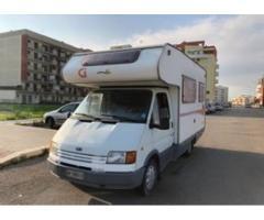 Camper Ford transit 2.5 aspirato diesel 6 posti