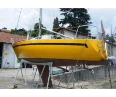 ,Cabinato a vela FURIA progetto Santarelli.mt 7,20