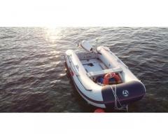 Gommone Yamaha 340 S + Motore Jhonson 15 hp 2 temp