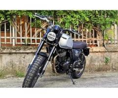 Promo SWM Outlaw 500 Gran Milano GRIGIO OPACO