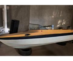 Barca 4,5 metri e motore 25/35 cavalli