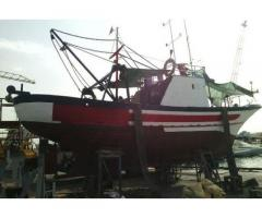 Motobarca in legno P264