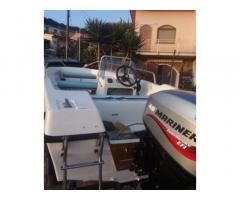"Barca ""Sessa"" 4,20 metri+motore Mariner+ carrello"