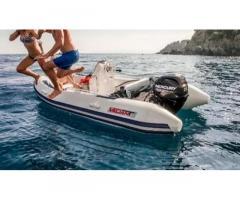 GommoneValiant430 Comfort + carrello con ruota sco