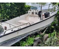 Barca open con e senza motore