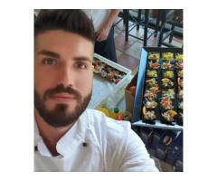 Gastronomo, capo partita ai primi,aiut chef