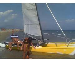 Catamarano Hobie cat 17 con le terrazze