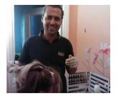 Barbiere parrucchiere a domicilio
