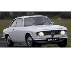ALFA ROMEO Giulia Sprint GT - 1964