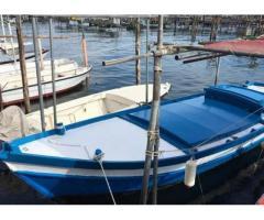 Barca Topo Chioggiotto con motore entrobordo