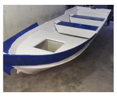 Barca alluminio e vetroresina