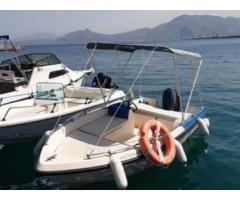 Barca con motore
