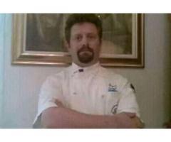 Chef di cucina lavoro alla carta