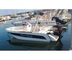 Barca a motore Mercury 40 hb