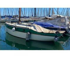 Barca vela d'epoca