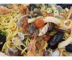Cuoco cucina romana e pesce