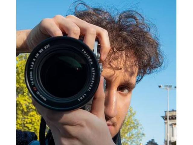 Fotografo, videomaker e social media manager