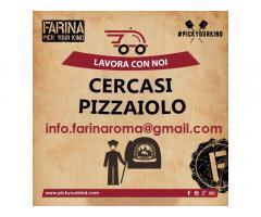 Pizzaiolo per Farina Roma