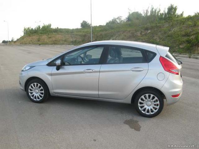 Ford Fiesta Plus grigia usata
