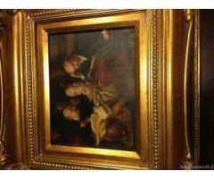 Dipinto ad olio - Roma