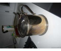 Formaggiera, cestello e recipiente termico in argento - Modena