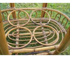 Carrello Portabottiglie in bambù - Vintage - Toscana