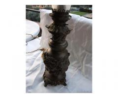 Antica lampada di bronzo - Roma
