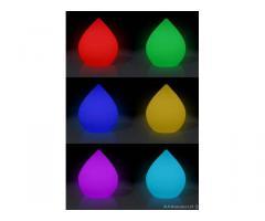 Lampada a goccia led multicolore - Brescia