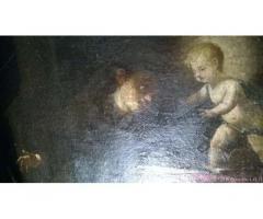 Dipinto Olio su tela del 600 - Genova