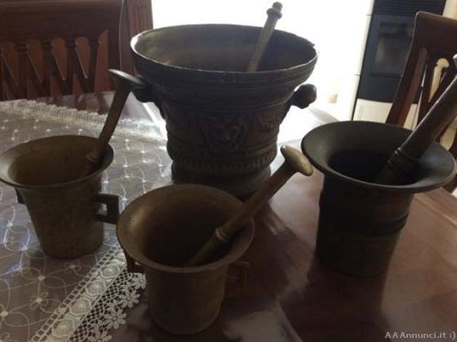 4 mortai antichi - Taranto