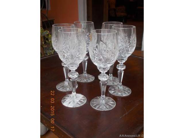 Bicchieri cristallo di boemia e zuppiera dell 39 800 for Bicchieri cristallo
