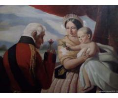 Riproduzione d'arte fine '800 - Messina