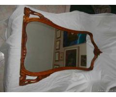 Vecchio specchio intarziato - Milano