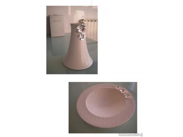 Set ceramica STILARTE ARGENTO - NUOVO - Milano